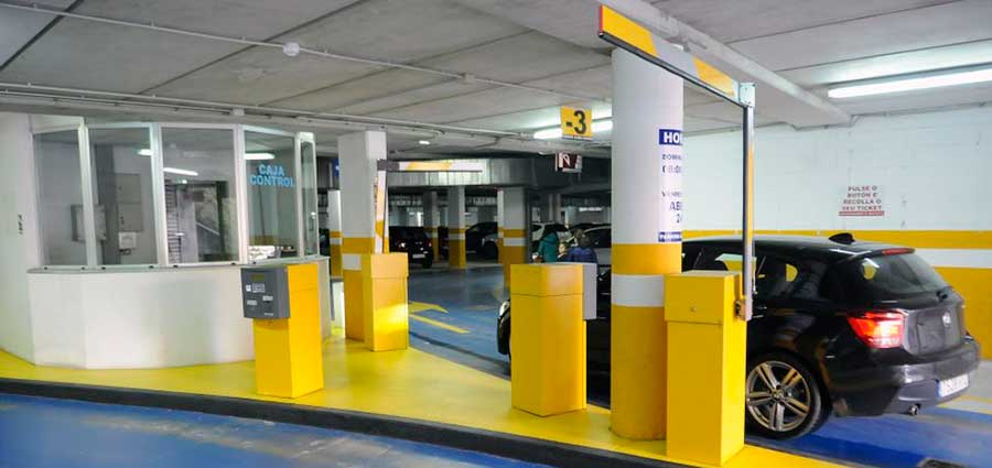 Subcontratación control de accesos parking